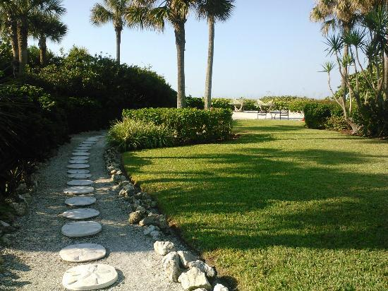 Arbors by the Sea: Pathway to the beach
