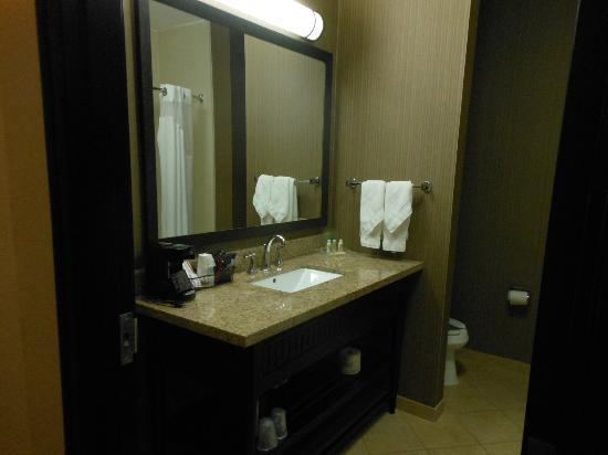 Holiday Inn Arlington NE: Roomy bathroom
