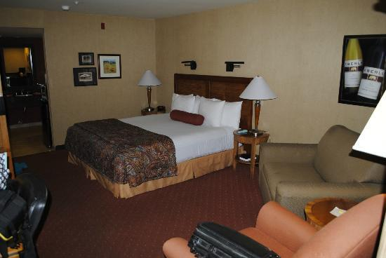 Adelaide Inn: View of room