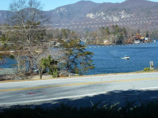 The 1927 Lake Lure Inn and Spa: View from Room