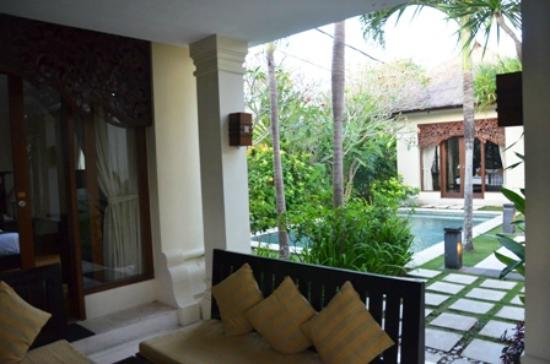 Pat-Mase, Villas at Jimbaran: Patio