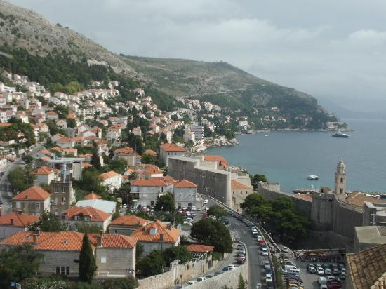 Hotel Lapad: view from the walls
