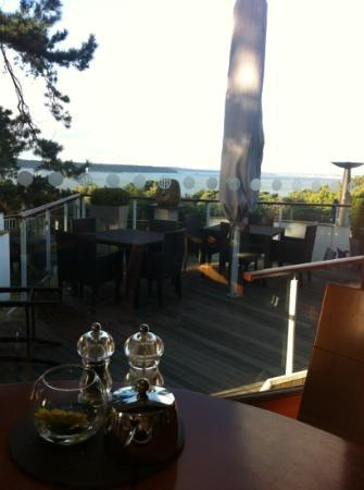 Harbour Heights Hotel: November breakfast view