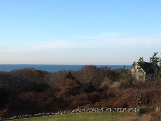 Chilmark, MA: View from Deck Room West U