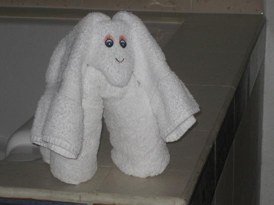 Aventura Spa Palace: Towel puppy