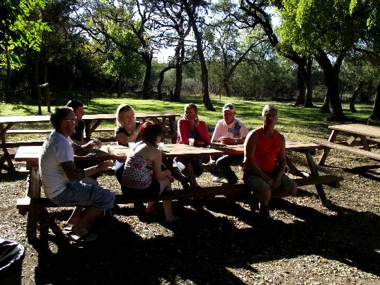 Mayan Dude Ranch: COOKOUT FOR BREAKFAST
