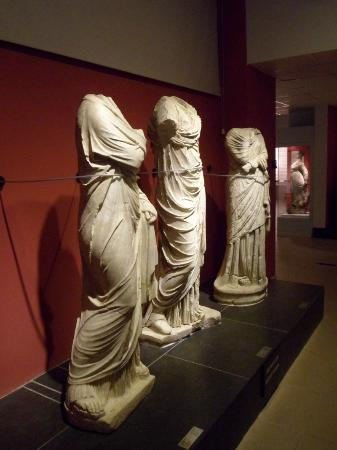 Statues in Fethiye Museum - Picture of Fethiye Museum ...