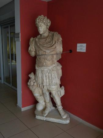 A statue of the emperor in Fethiye Museum - Picture of ...