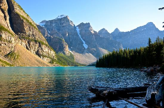 Lake Louise Campground: Lake Moraine Ten Peaks