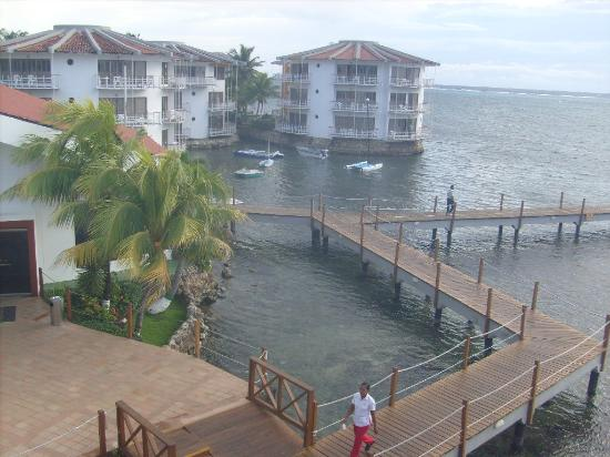 Royal Decameron Aquarium: VISTA DESDE LA HABITACION