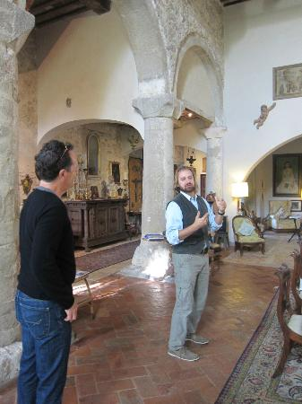 Historical Resort Pieve di Caminino: Reception hall and gallery