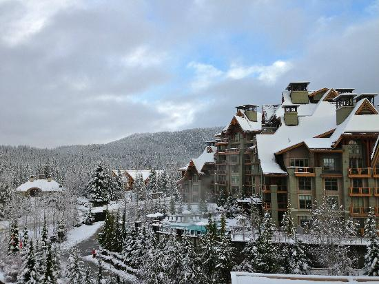 Four Seasons Resort Whistler: What a great view to start your day!