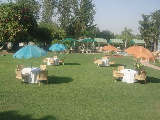 Manesar, India: Party Area/Ground