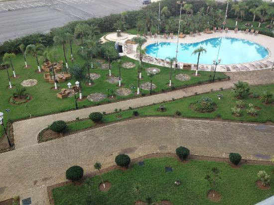 Hilton Alger: View from room
