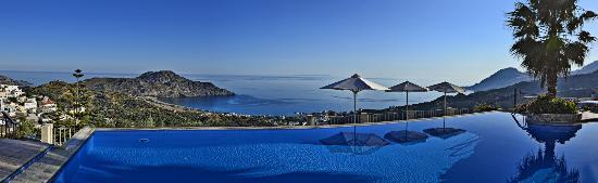 Stefanos Village Hotel: View from pool