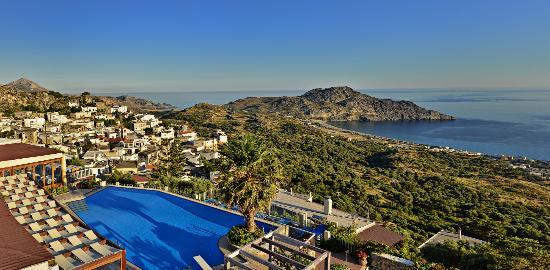 Stefanos Village Hotel: Panoramic View from room