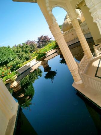The Oberoi Udaivilas: every corner was just beautiful