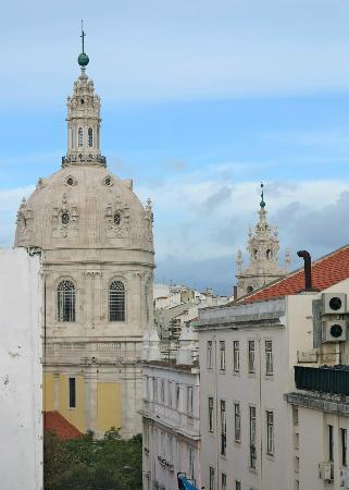The House: Estrella Basilica from the roof terrace