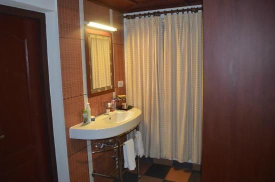 The World Backwaters: Upper room with segregated bathroom