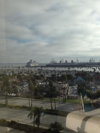 Hyatt Regency Long Beach: view from window