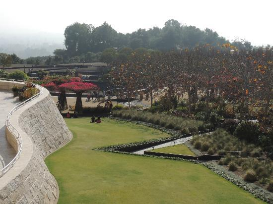 The Getty Center: Central Garden