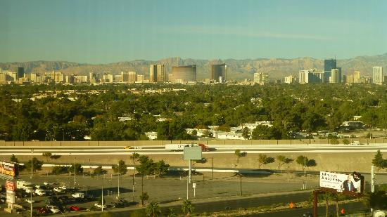 Boulder Station Hotel and Casino: View of the Strip from our room
