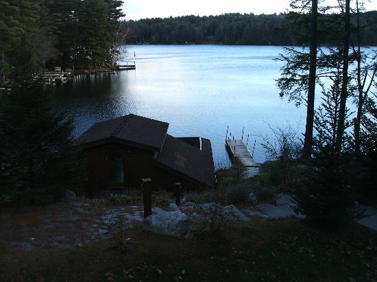 The Fern Lodge: Dusk on Friends Lake