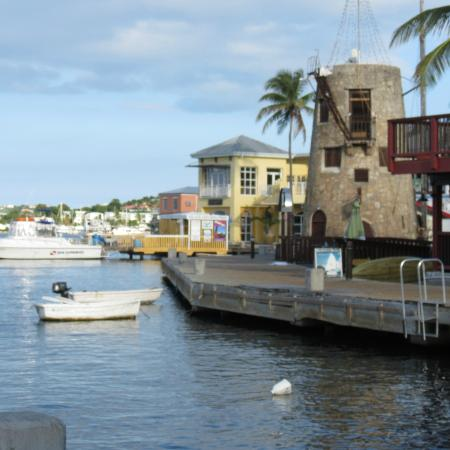 Club Comanche: View of the resort from the boardwalk