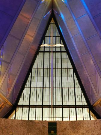 United States Air Force Academy: US Air Force Academy Chapel - Protestant Chapel