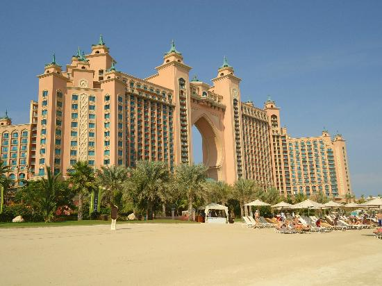 Atlantis, The Palm: The Hotel Facade