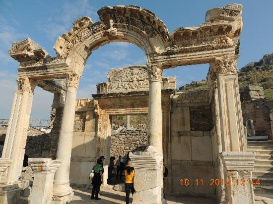 Temple of Hadrian - Picture of Ancient City of Ephesus ...