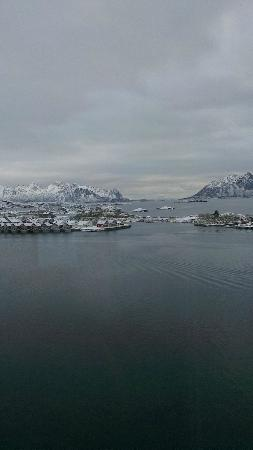 Thon Hotel Lofoten: View from the 9th floor