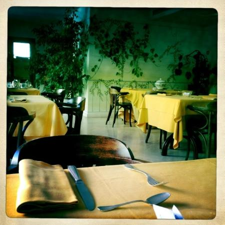 Hotel San Luca: Breakfast room