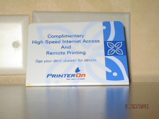 Hilton Garden Inn Washington DC / Bethesda: Free Internet access