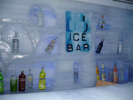 Tropicana Rosetta &amp; Jasmine Club: ice bar in soho square