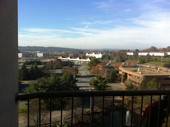 Crowne Plaza Hotel Nashua: View from the Executive Lounge