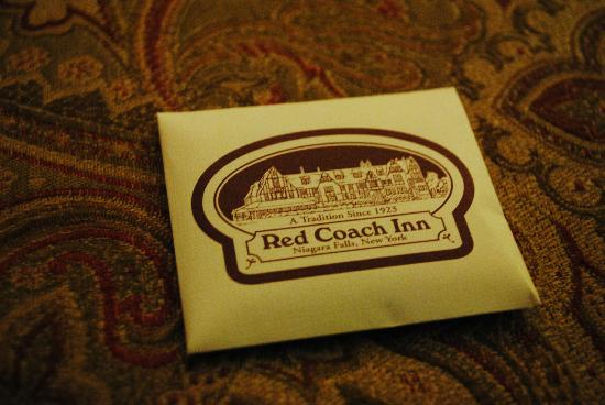 The Red Coach Inn Historic Bed and Breakfast Hotel: Welcome mint chocolates!