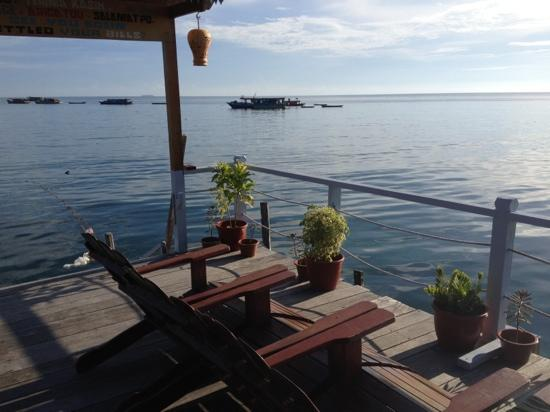 Spheredivers Homestay & Scuba Diving : view from homestay