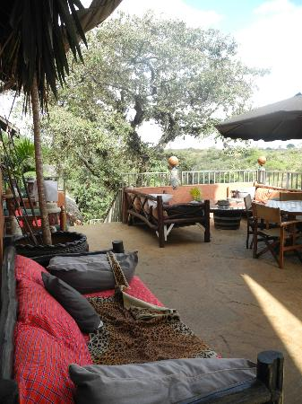 Rolf's Place: lots of places to relax