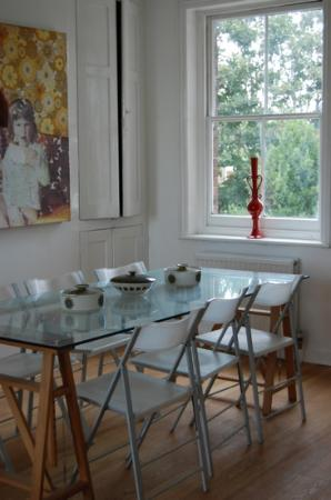 Arthouse b + b: the dining room