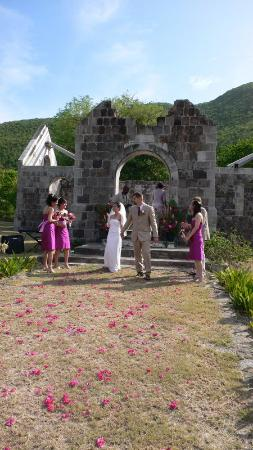 Newcastle, Nevis: Amy SApril Wedding