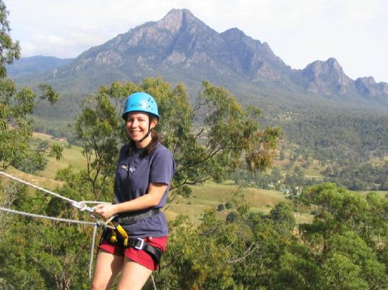 Mt Barney Lodge Country Retreat: Abseiling