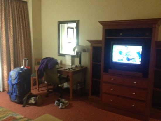 Southbridge Hotel And Conference Cent: The TV was good enough.