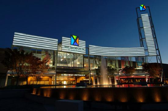 Burnaby, Canada: Shop 'til you drop at British Columbia's largest shopping and entertainment complex - Metropolis