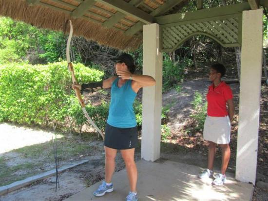 The BodyHoliday, LeSport: Archery