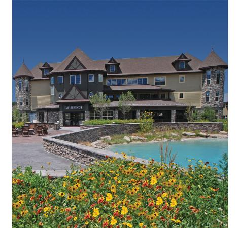 The Springs Resort &amp; Spa: Ecoluxe hotel building and mother spring