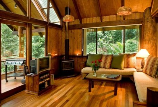 Treehouse cropped picture of atherton queensland for Tree house inside ideas