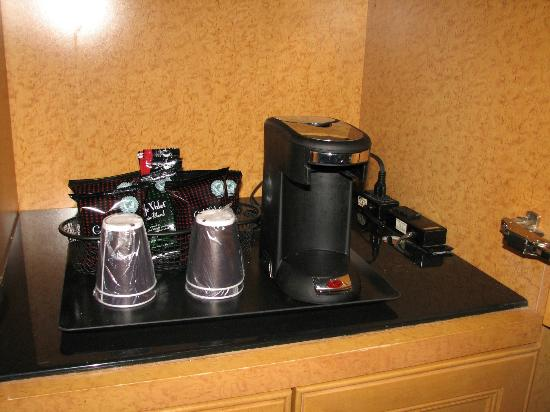 Horseshoe Casino and Hotel: Coffee service