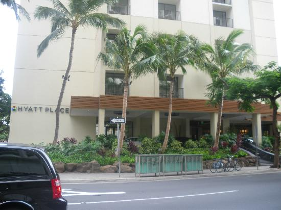 Hyatt Place Waikiki Beach: 