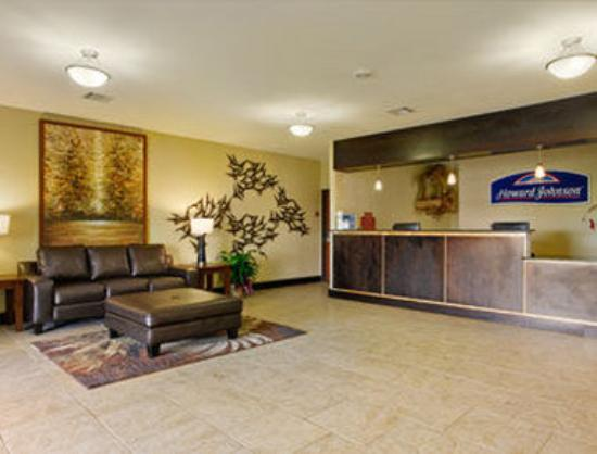 Howard Johnson Bunkie LA: Lobby